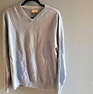 💞3/$25💞 Light Blue Sonoma V-Neck Sweater